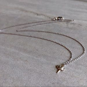 Delicate Shark Tooth Charm Necklace